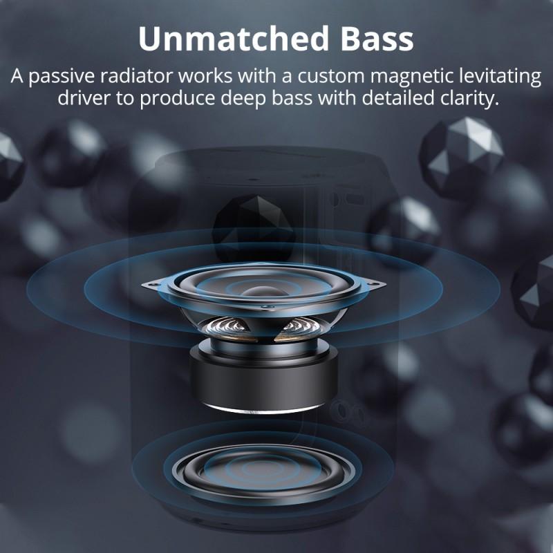 Tronsmart Element T6 Mini Bluetooth Wireless Speaker - Black Pakistan brandtech.pk